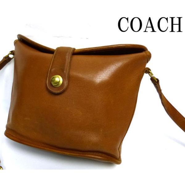 97977d2ebc61 オールドコーチ OLD COACH バケツ型ショルダーバッグ(ブラウン)【中古 ...