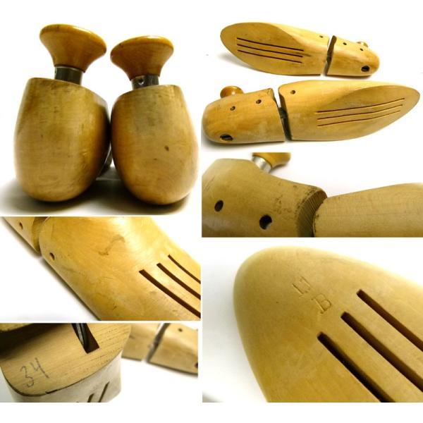 ビンテージ 木製シューキーパー / シューツリー  11B(29〜29.5cm相当 )