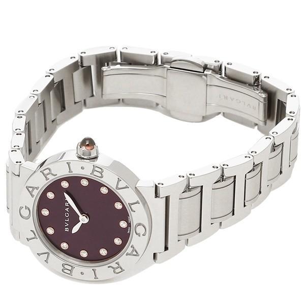 「P10倍 4/12 10:00マデ」 ブルガリ 腕時計 レディース BVLGARI BBL26C7SS/12 パープル シルバー