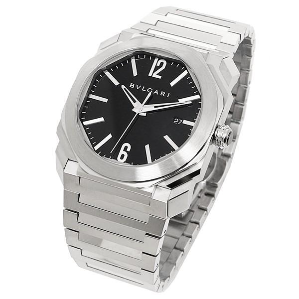 size 40 00a55 e29b1 ブルガリ 腕時計 BVLGARI BGO41BSSD 102031 シルバー/ブラック