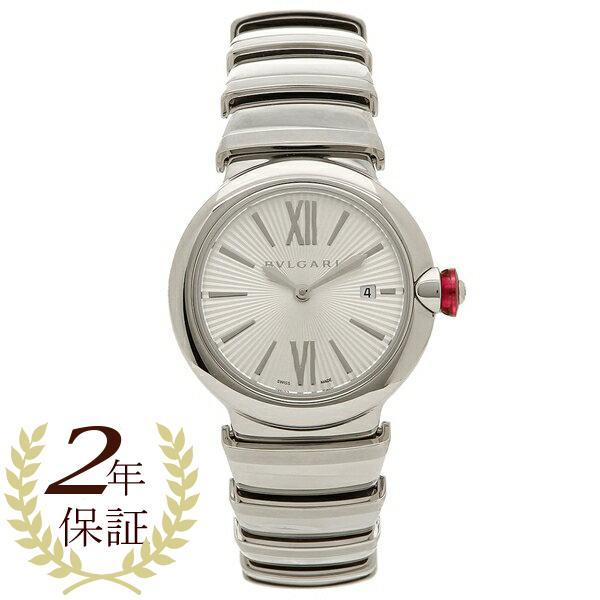 「P10倍 4/12 10:00マデ」 BVLGARI 腕時計 レディース ブルガリ LU28C6SSD シルバー
