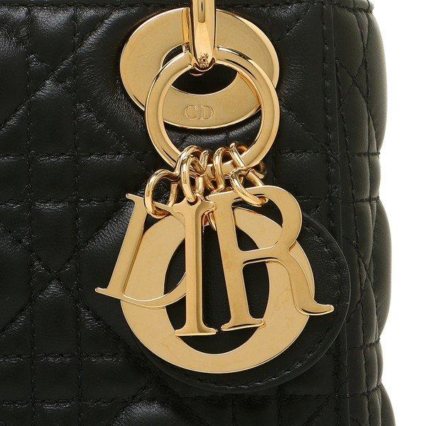 ディオール ハンドバッグ ショルダーバッグ レディース Dior CAL44500 OCAL N0 ブラック ゴールド