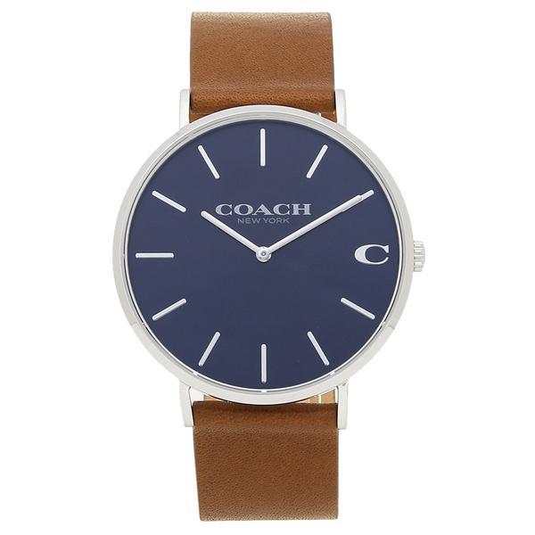 53c9227f22 コーチ 腕時計 メンズ COACH 14602151 ブラウン ブルーの画像