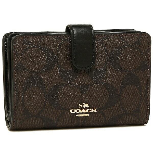 meet de1d9 de423 コーチ COACH 財布 アウトレット F23553 シグネチャー ミディアム コーナー ジップ ウォレット 二つ折り財布