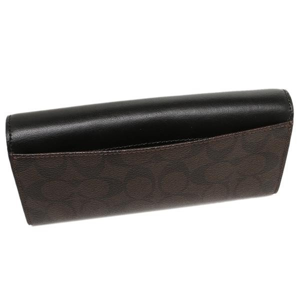 COACH 財布 アウトレット レディース コーチ F54022 シグネチャー スリム エンベロープ ウォレット 長財布|axes|04