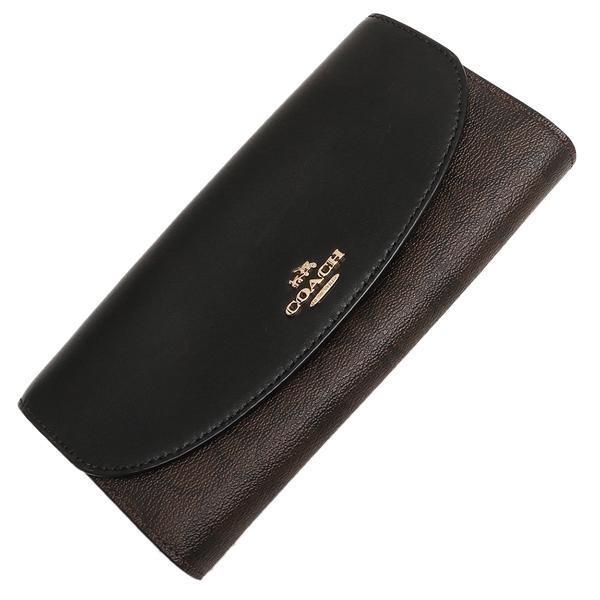 COACH 財布 アウトレット レディース コーチ F54022 シグネチャー スリム エンベロープ ウォレット 長財布|axes|05