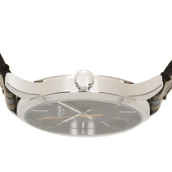 685249dca83d ... コーチ 腕時計 メンズ アウトレット COACH W1545 D9B シルバー ブラック グレー axes  ...