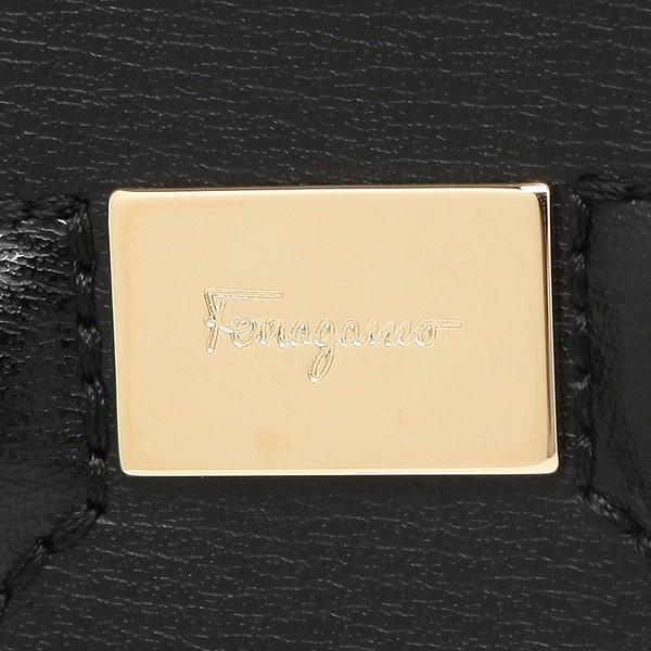 「P10倍 6/15 20時〜 4H限定」 フェラガモ 長財布 レディース Salvatore Ferragamo 22C843 0683623 ブラック