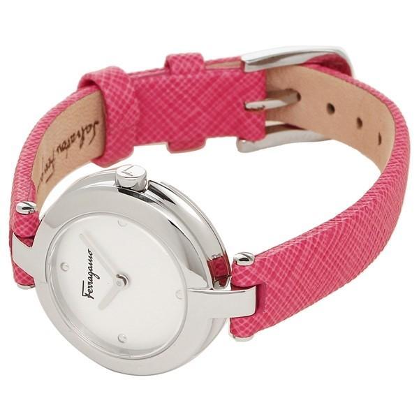 「P10倍 4/12 10:00マデ」 フェラガモ 腕時計 レディース Salvatore Ferragamo FAT010017 シルバー ピンク