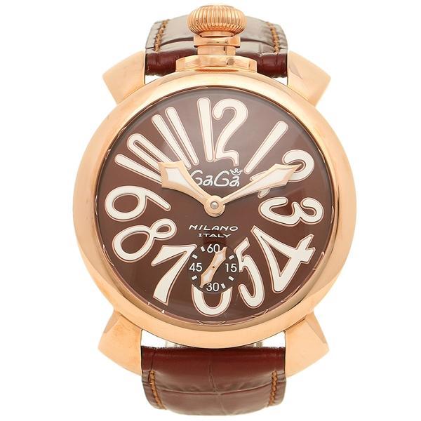 innovative design 19dd2 b8d78 ガガミラノ 腕時計 メンズ GAGA MILANO 5011.01S BRW ブラウン ピンクゴールド  :gg-501101s-brw:ブランドショップAXES - 通販 - Yahoo!ショッピング