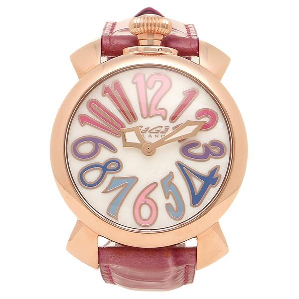 quality design 137df eb3bf ガガミラノ 腕時計 メンズ レディース GAGA MILANO 5021.1-PIN-NEW ホワイトパール ピンク ピンクゴールド ...