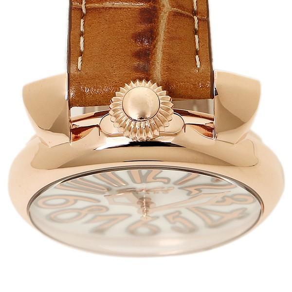 16db940f66 ... ガガミラノ 腕時計 メンズ/レディース GAGA MILANO 5021.2 BRW MANUALE40MM クォーツ 腕時計 ウォッチ ピンク /ゴールド ...