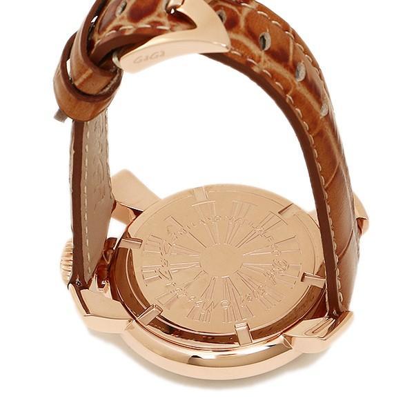 0dee3140e0 ... ガガミラノ 腕時計 メンズ/レディース GAGA MILANO 5021.2 BRW MANUALE40MM クォーツ 腕時計 ウォッチ ピンク /ゴールド