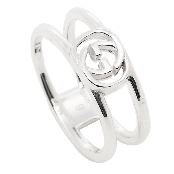 c238c32d2a8b グッチ GUCCI 指輪 リング アクセサリー レディース/メンズ GUCCI 298036 J8400 8106 インターロッキングGチャーム 指輪  シルバー