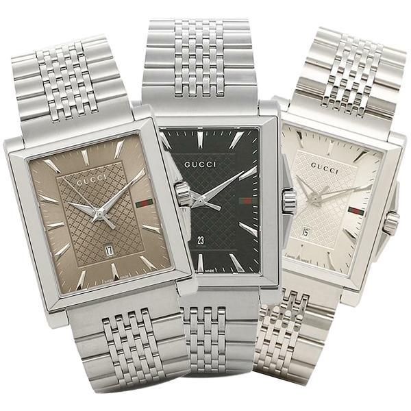 グッチ GUCCI  時計 Gタイムレス G-TIMELESS レクタングル メンズ腕時計 ウォッチ 選べるカラー|axes