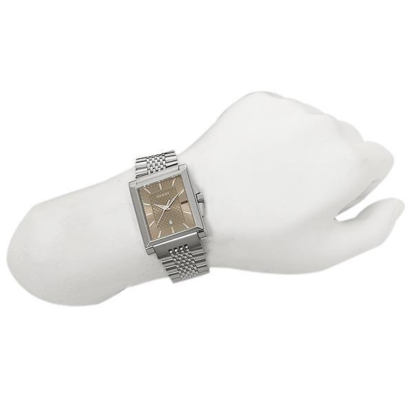 グッチ GUCCI  時計 Gタイムレス G-TIMELESS レクタングル メンズ腕時計 ウォッチ 選べるカラー|axes|05