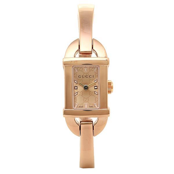 「P10倍 4/12 10:00マデ」 グッチ GUCCI 時計 腕時計 グッチ 時計 レディース GUCCI 6800シリーズ YA068585 腕時計 ウォッチ コパー/ピンクゴールド