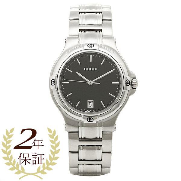 810c47c703 グッチ GUCCI 時計 腕時計 グッチ 時計 GUCCI 腕時計 YA090304 ブラック/シルバー メンズ/レディース 腕時計 ...