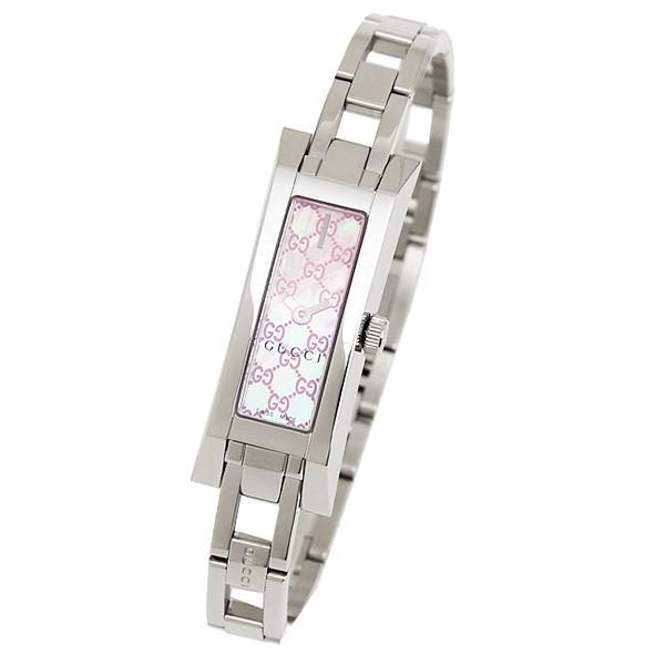 「P10倍 4/12 10:00マデ」 グッチ GUCCI 時計 腕時計 グッチ 時計 レディース GUCCI G LINK 腕時計 YA110524 ウォッチ ホワイトパール/シルバー