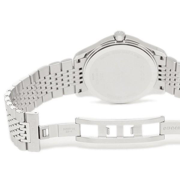 「P10倍 4/12 10:00マデ」 グッチ メンズ 腕時計 GUCCI YA126405 ブラック シルバー