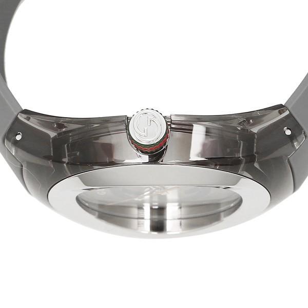 グッチ 時計 メンズ/レディース GUCCI YA137109 グレー シルバー|axes|03