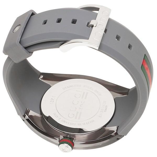 グッチ 時計 メンズ/レディース GUCCI YA137109 グレー シルバー|axes|07