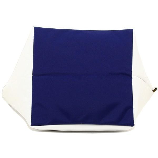 エルベシャプリエ トートバッグ レディース Herve Chapelier 925N 0113 ホワイト ブルー