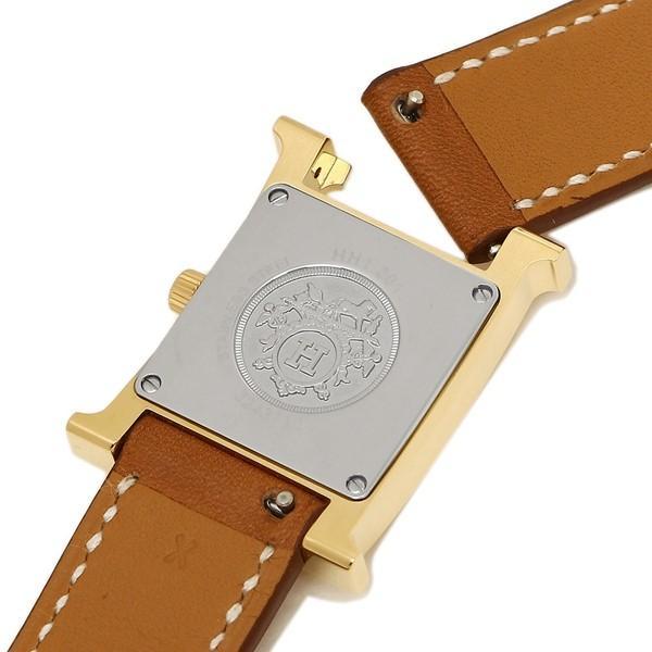 2ab377a9f8 ... HERMES 腕時計 エルメス 036737WW00 HH1.201.131/VBA1 ブラウン レディース ホワイト  イエローゴールド|axes