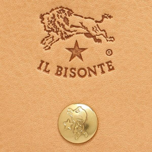 3cd231270aef ... イルビゾンテ 折財布 メンズ/レディース IL BISONTE C0522 P 120 ナチュラル|axes| ...