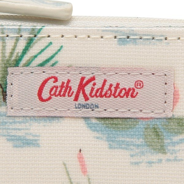 「P10%還元 7/5 0時〜24時」 【返品OK】キャスキッドソン 折財布 レディース CATH KIDSTON 105252316189102 クリーム|axes|06