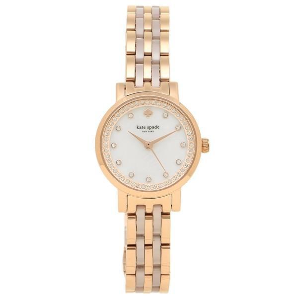 de24eb1a9a ケイトスペード 腕時計 レディース KATE SPADE KSW1265 ローズゴールド ホワイト