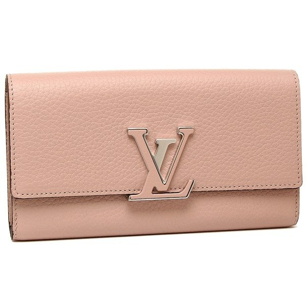 new style 36456 afb6d 「P10%還元 9/15 0~24時マデ」 ルイヴィトン 長財布 レディース LOUIS VUITTON M61250 ピンク