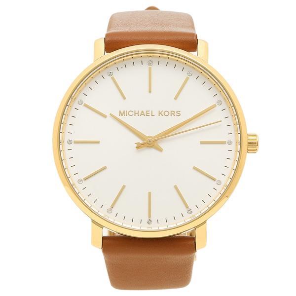 979907bbda3c マイケルコース 腕時計 レディース MICHAEL KORS MK2740 ブラウン ホワイト イエローゴールド|axes ...