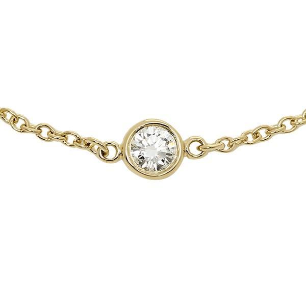 ティファニー ブレスレット アクセサリー TIFFANY&Co. 10769051 18K ダイヤモンドバイザヤード 7in 18Y イエローゴールド