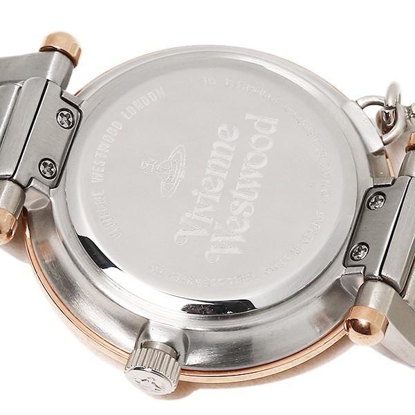 【10%オフクーポン対象】 ヴィヴィアンウエストウッド 腕時計 レディース VIVIENNE WESTWOOD VV006RSSL シルバーピンクゴールド axes 07