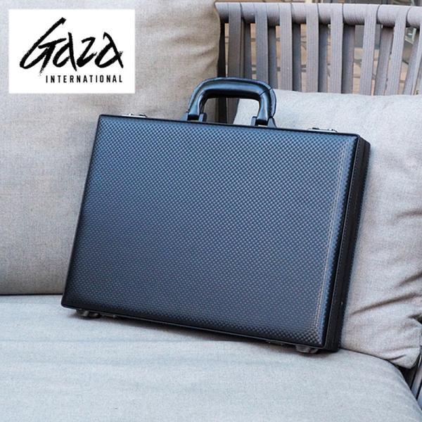 革ケアキット/防水スプレー どちらかプレゼント! 青木鞄 GAZA メンズ アタッシュケース  ビジネスバッグ A4 6251 ブラック