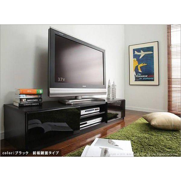 背面 収納 TVボード ROBIN ロビン 幅150cm ブラック テレビ台 TV台 テレビボード テレビラック TVラック AVラック AVボード AV収納 キャスター付き|axisnet