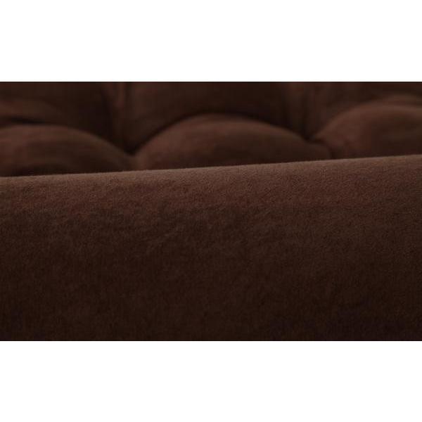 フロア コーナーソファ moffy モフィ フロアタイプ 日本製 スエード調 ブラウン コーナーソファー フロアソファ フロアソファー ロータイプ ローソファ|axisnet|02