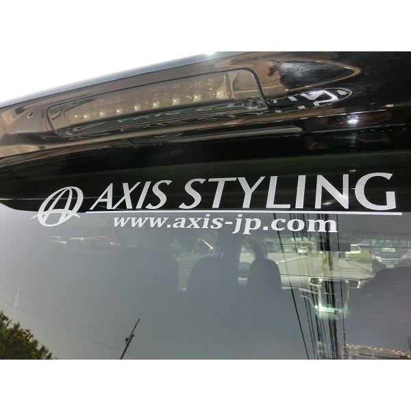 ※代引き不可【新発売】アクシススタイリング ロゴステッカー Mサイズ|axisstyling|02