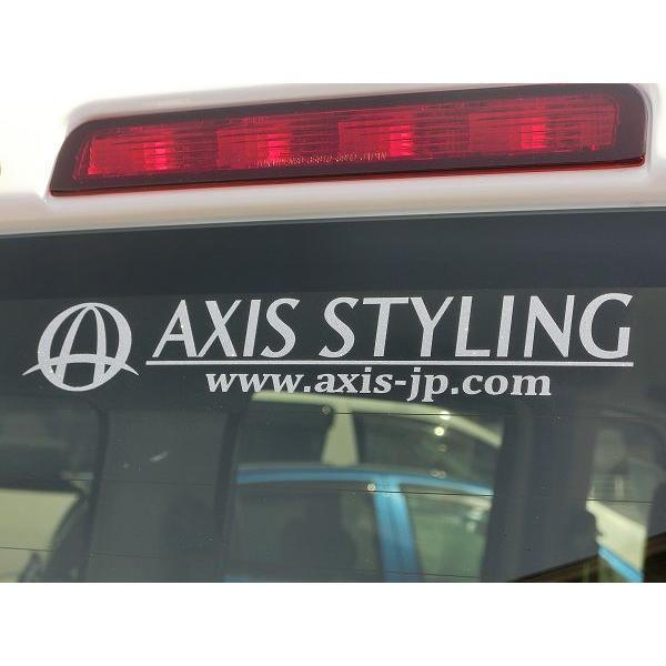 ※代引き不可【新発売】アクシススタイリング ロゴステッカー Mサイズ|axisstyling|03