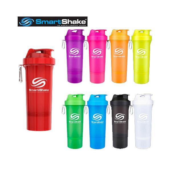 即納 SmartShake  スマートシェイク スリム 500ml プロテイン プロテインシェイカー プロテインシェーカー シェーカー シェイカー ボトル おしゃれ