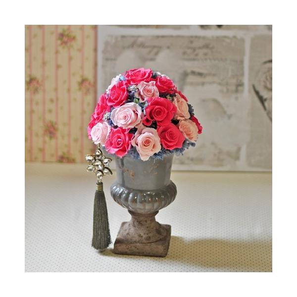 ピンクローズを極めた美しいアレンジメント「La vie en rose」プリザーブドフラワーアレンジメント|ayanasu-hanakobo