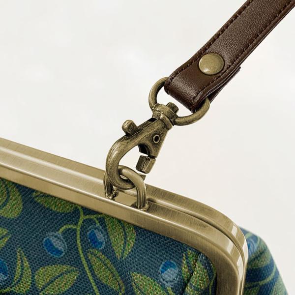 がま口フラップ2WAYリュック 帆布・がまの実  在庫商品|ayano-koji|07