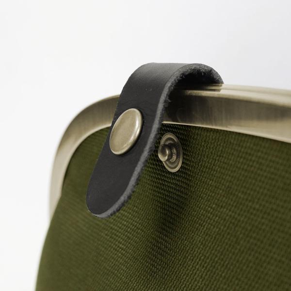 くし型がま口ボディバッグ Sarei コーデュラ(R)Eco Fabric 在庫商品|ayano-koji|07