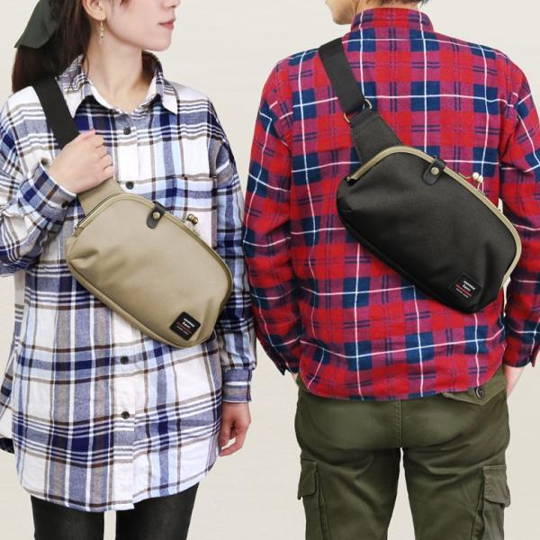 くし型がま口ボディバッグ Sarei コーデュラ(R)Eco Fabric 在庫商品|ayano-koji|08