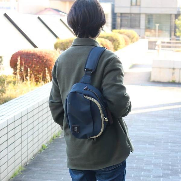 がま口ポシェット型ボディバッグ コーデュラ(R) 在庫商品|ayano-koji|08