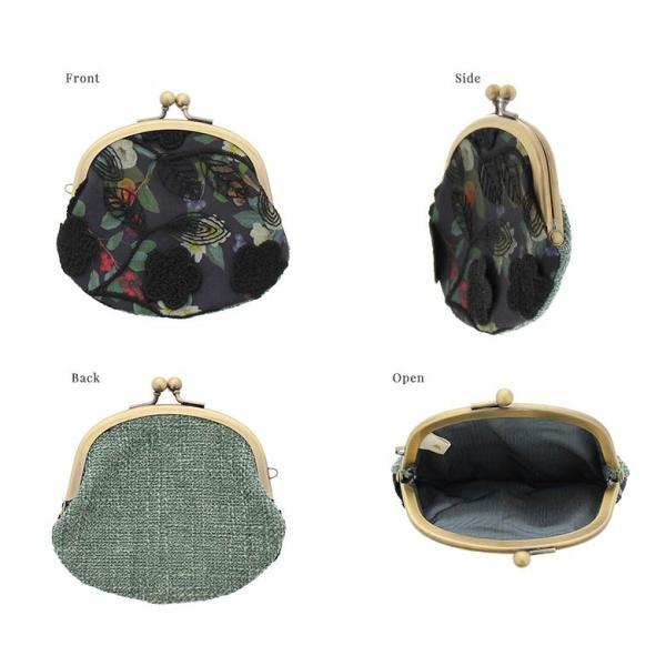 3.3寸がま口財布 フルールレース 在庫商品|ayano-koji|03
