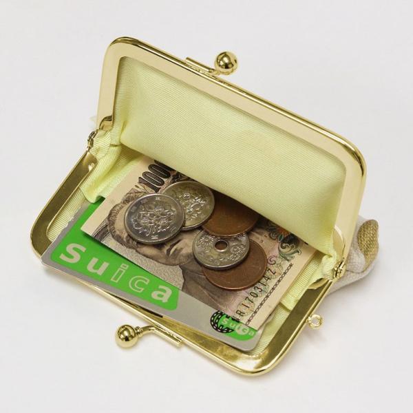 がま口 3.5寸がま口コインケース HAKUドット | 財布 カード ユニセックス がま口 小銭入れ 日本製 がま口財布 ミニ財布 コインケース 春財布 誕生 在庫商品|ayano-koji|04
