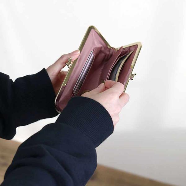 6寸がま口お財布ポーチ HAKUにゃんこ 在庫商品 ayano-koji 05