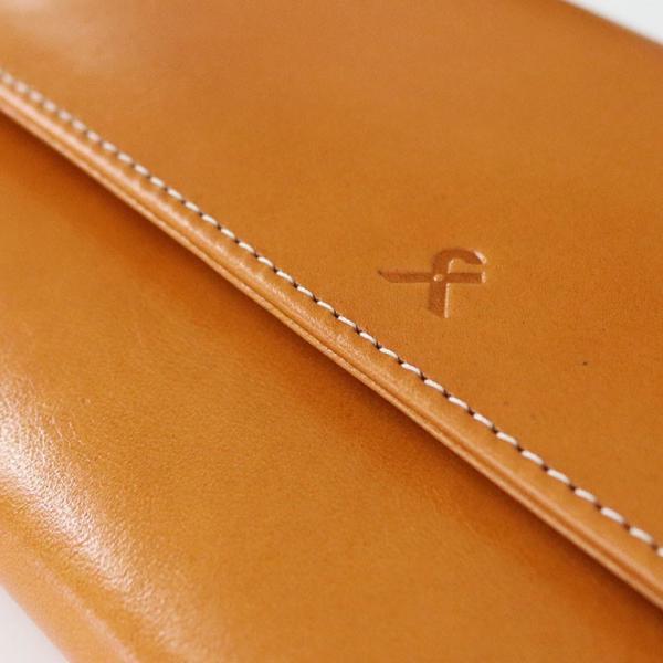 ギャルソン型内がま口長財布 X_LEATHER WALLET(N) 在庫商品|ayano-koji|05